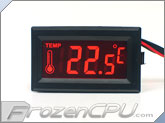 Thermal-Star Illuminated Thermometer - Orange Light (TM03O)