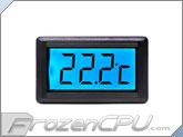 XSPC LCD Temperature Sensor V2 - Blue Backlight w/ G1/4 Sensor Plug