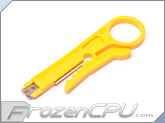 RJ45 Cat5 Network UTP/STP/RG Cable Wire Stripper Punch Down Tool
