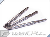 Industrial Metric High-Speed Steel Hand Thread Tap 3 Piece Set - M3 x 0.5