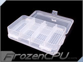 10 Compartment Transparent Plastic Storage Parts Box (Double Sided)