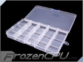 15 Compartment Transparent Plastic Adjustable Storage Parts Box