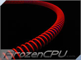 "PrimoChill Anti-Kink Coils - 1/2 OD"" Tubing - UV Red"