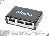Akasa Connect 4 Ultra Compact Four Port USB Hub (AK-HB-03BK)