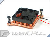 Enzotech SLF-1 Forged Copper Northbridge / Southbridge Low-Profile Heatsink