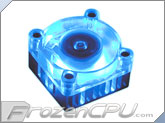 Akasa Cool Blue Anodized Univeral Chipset Cooler - 40mm Blue LED Fan (AK-210)