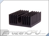 Aavid Thermalloy Premium Chipset Heat Sink - 23mm x 23mm x 10mm - Anodized Black
