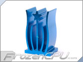 Elegant Chipset Heatsink - 15mm x 11mm x 25mm - Anodized Blue