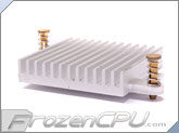 Aavid Thermalloy Northbridge / Southbridge Heatsink - 37mm x 37mm x 8mm - Silver (55mm Hole Spacing)