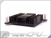 Aavid Thermalloy Northbridge / Southbridge Heatsink - 38mm x 38mm x 10mm - Anodized Black (60mm Hole Spacing)