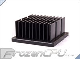 Aavid Thermalloy Premium Heatsink - 33mm x 33mm x 15mm - Anodized Black