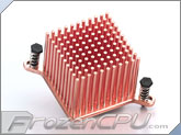 Enzotech Forged Copper Northbridge Heatsink (CNB-S1) - 36mm x 36mm x 27.6mm