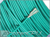 18AWG High Voltage / High Temperature UL3239 Silicone Rubber Wire - Green