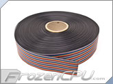 2.54mm Pitch Dupont 40-Pin Rainbow Flat Ribbon Cable Wire