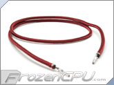 "Mod/Smart Kobra MAX Pre-Sleeved ATX Female to Female Extension Wire - 16"" - Blood Red (KMX-A16FF-BR)"