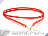 "Mod/Smart Kobra MAX Pre-Sleeved ATX Female to Female Extension Wire - 16"" - Red (KMX-A16FF-R)"