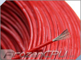 18AWG High Voltage / High Temperature UL3239 Silicone Rubber Wire - Red