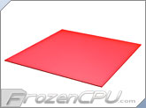 "Mod/Smart Cast GLS Modders Acrylic 16"" x 16"" DIY -  Transparent Red (DIY-16-AC-TRD-125)"