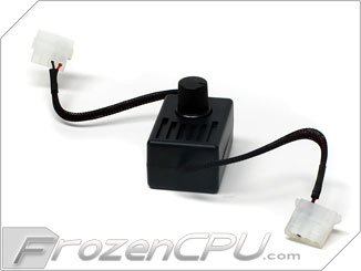 Manual 12V Variable Speed Controller - 4-Pin Molex Connector