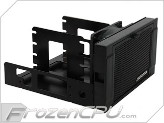 Evercool Armor Dual 5 25 Quot Drive Bay To Triple 3 5 Quot Hdd