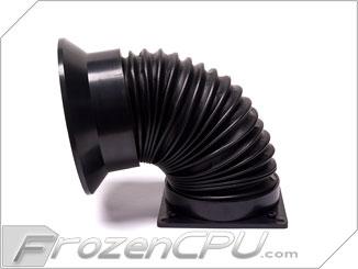 Frozencpu Computer Case Cooling 80mm Directional Fan Duct